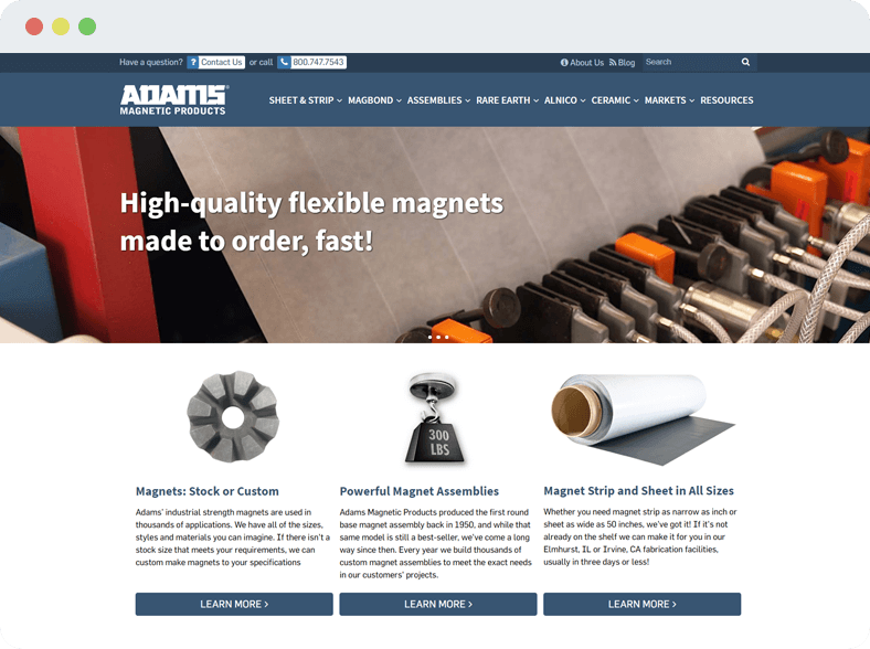 Adams Magnetic Products