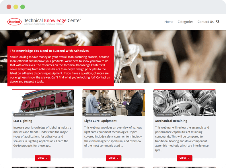 Henkel Technical Knowledge Center